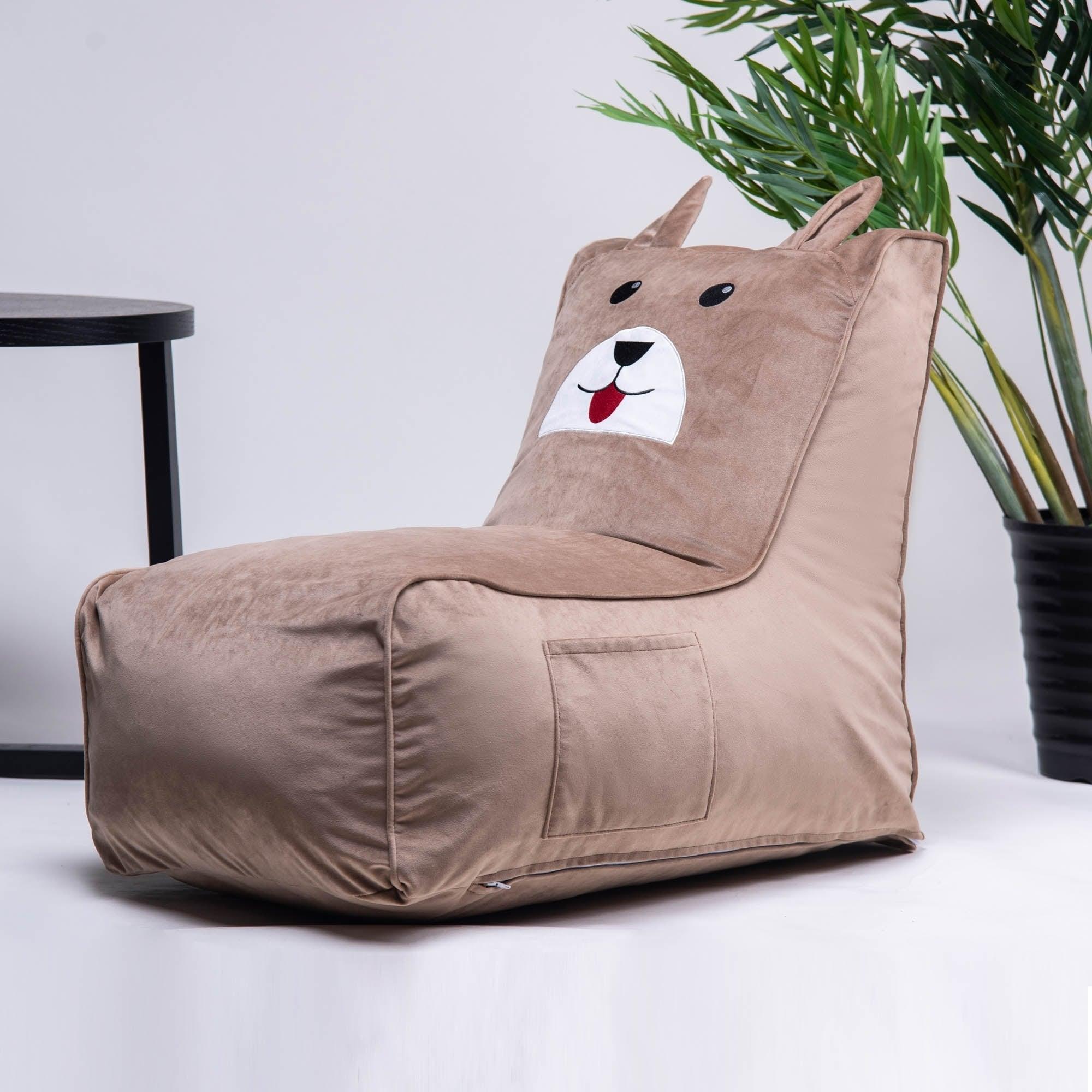 Merax Cute Animal Memory Foam Bag Chair For Kids