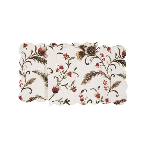 Autumn Bloom Quilted Runner