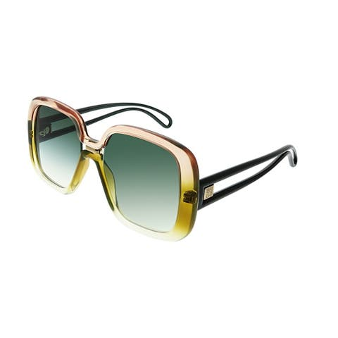 46805693d702 Givenchy Womens Brown-frame Green Gradient-lens Sunglasses (GV 7106 039)