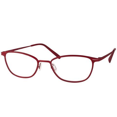 Modo MODO 4406 BURG Women's Burgundy Titanium Frame 50-millimeter Eyeglasses