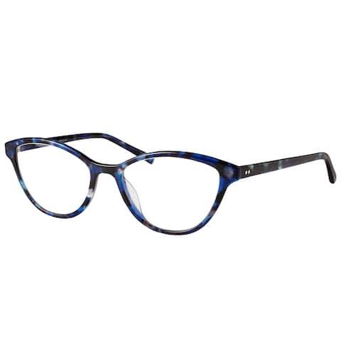Modo Women's Blue Marble Plastic 51-millimeter Eyeglasses