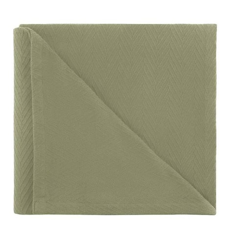 Kotter Home All Season Breathable Cotton Woven Throw Blanket - Metro Pattern