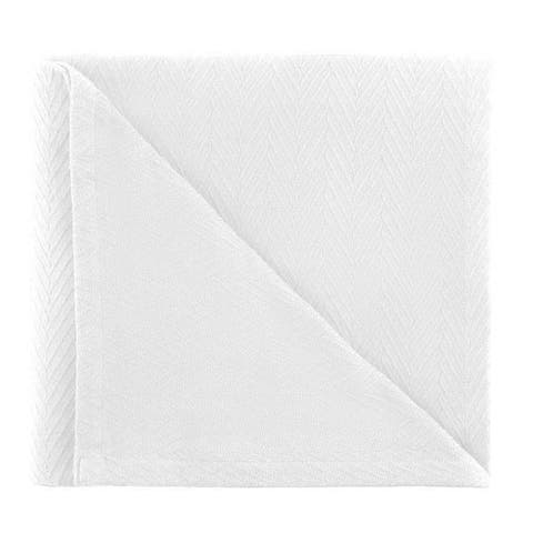 Kotter Home All Season Breathable Cotton Woven Throw Blanket - Metro Pattern