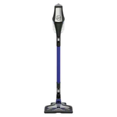 Hoover Fusion Pet Bagless Stick Vacuum 24 amps Standard Blue