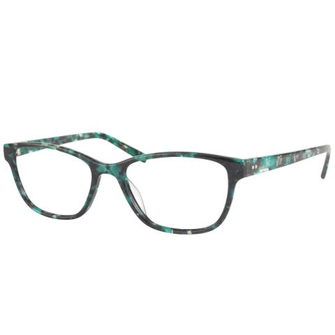 Modo MODO 6606 TRQMB Women's Turquoise Marble Frame 50-millimeter Eyeglasses