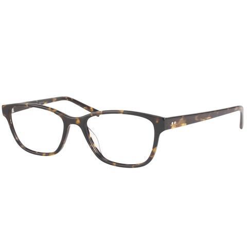 Modo MODO 6606 DTORT Women;s Dark Tortoise Plastic Frame 50-millimeter Eyeglasses