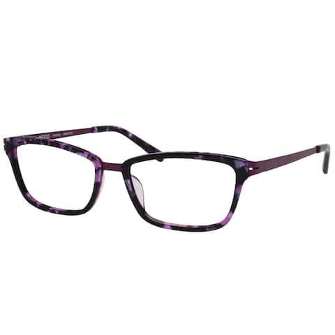 Modo MODO 4500 PURMB 46mm Women's Purple Marble Frame Eyeglasses