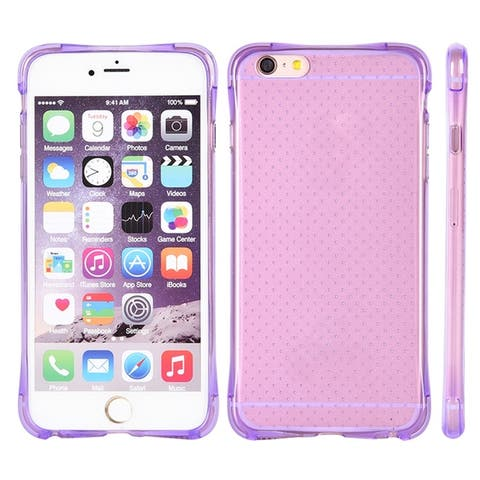 Translucent Crystal Slim Flexible Dotted TPU Skin Case for iPhone 6 iPhone 6s