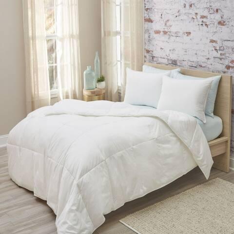 DreamTek Lightweight Down Comforter with SmartSnap System
