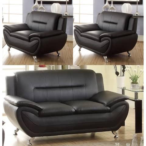 Linon three piece living room set