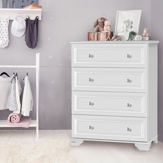 Copper Grove Geleen 4-drawer White Chest