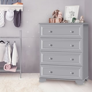 Copper Grove Geleen 4-drawer Grey Chest