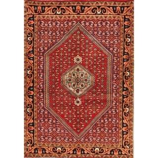 """Bidjar Geometric Hand-Knotted Wool Persian Oriental Area Rug - 5'1"""" x 3'7"""""""