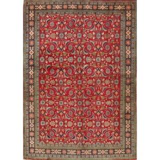"""Vintage Kashkoli Vegetable Geometric Hand-Knotted Wool Persian Rug - 5'4"""" x 3'6"""""""