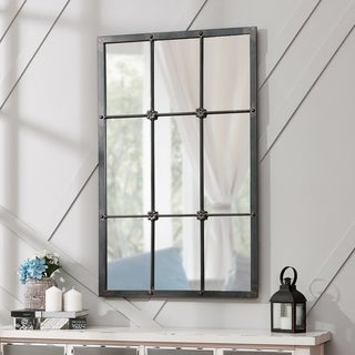 FirsTime & Co.® Homestead Manor Window Mirror - Grey