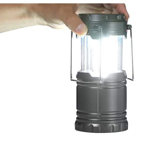 Bell and Howell Taclight Mini Lanterns 3PK Collapsible COB LED Lights
