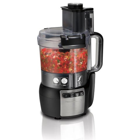 Hamilton Beach 10 Cup Stack & Snap Food Processor