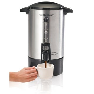 Hamilton Beach 45 Cup Coffee Urn with One-Handed Dispensing