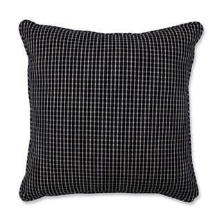 Pillow Perfect Roe Licorice 18-inch Throw Pillow