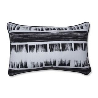 Pillow Perfect Brushed Ink Rectangular Throw Pillow