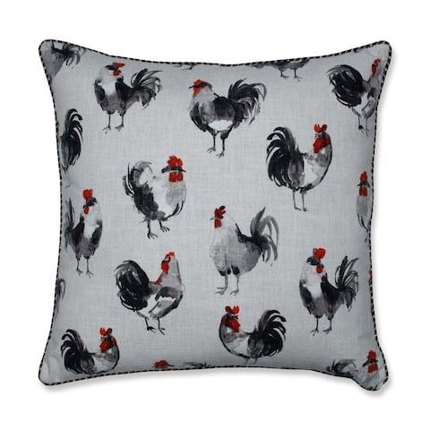 Pillow Perfect Rooster Linen 25-inch Floor Pillow