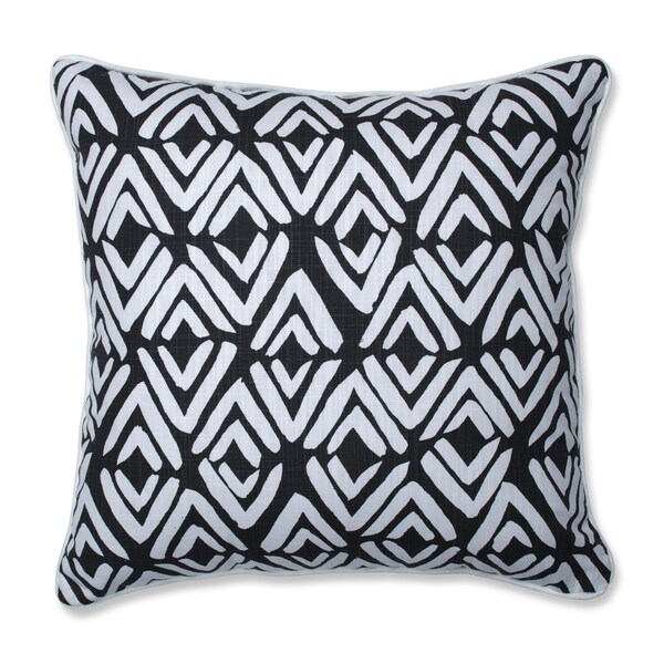 Pillow Perfect Fearless Ink 18-inch Throw Pillow