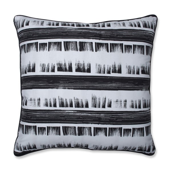 Pillow Perfect Brushed Ink 25-inch Floor Pillow
