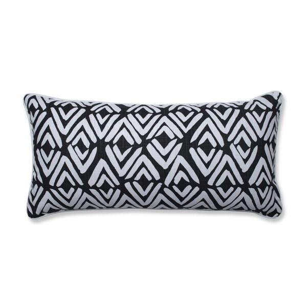 Pillow Perfect Fearless Ink Oversize Lumbar Pillow