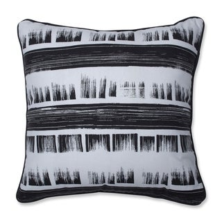 Pillow Perfect Brushed Ink 18-inch Throw Pillow