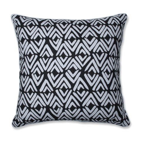 Pillow Perfect Fearless Ink 25-inch Floor Pillow