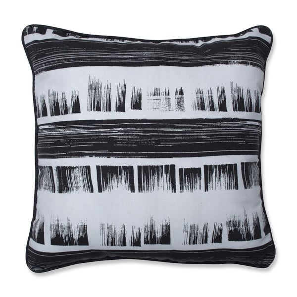 Pillow Perfect Brushed Ink 16.5-inch Throw Pillow