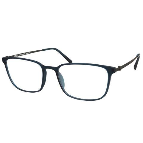 Modo MODO 7005 MEMRL 54mm Unisex Matte Emerald Frame Eyeglasses 54mm