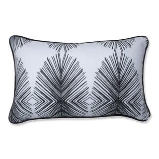 Pillow Perfect Tulum Ink Reversible Rectangular Throw Pillow