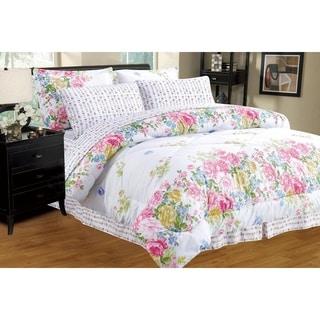 Porch & Den Jenne Reversible Bed in a Bag Comforter Set