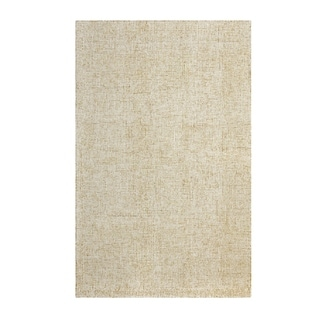 Colorfields Harrison Wheat Hand-tufted Rectangle Area Rug - 2' x 3'