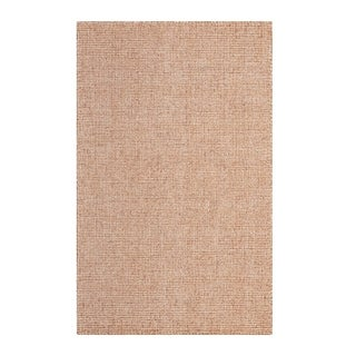 Colorfields Harrison Terracotta Hand-tufted Rectangle Area Rug - 2' x 3'