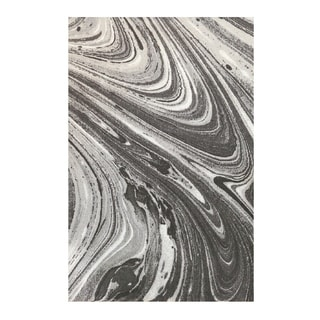 Colorfields Marble Onyx Digitally Printed Rectangle Area Rug - 2' x 3'