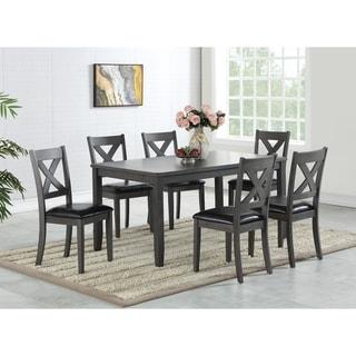 Gabriel 7-Piece Dining Set, Grey