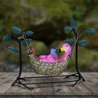 Solar Hammocker Flamingo