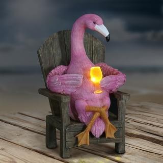 Solar Flamingo Holding LED Cocktail