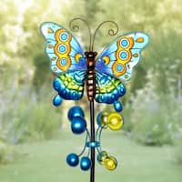 Metal Butterfly Wind Spinner