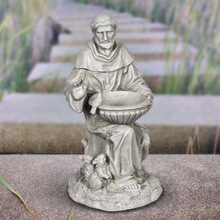 19 Inch St Francis Statue Bird Feeder