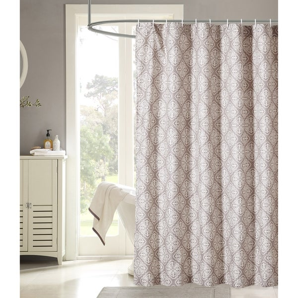 "Microfiber Shower Curtain Double Swag 70/"" x 72/"""