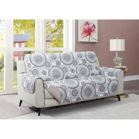 Harper Lane Starburst Tan Sofa Furniture Protector