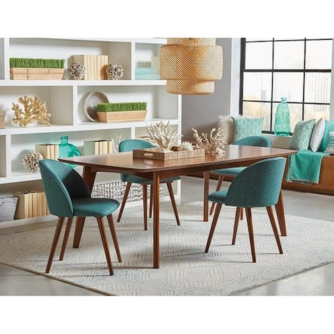 Mariam Mid-century Modern Upholstered Dining Chairs (Set of 2)