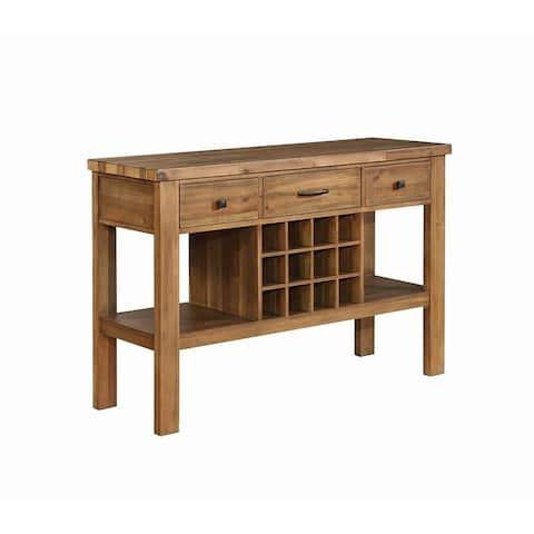 Jacques Modern Craftsman 3-drawer Server