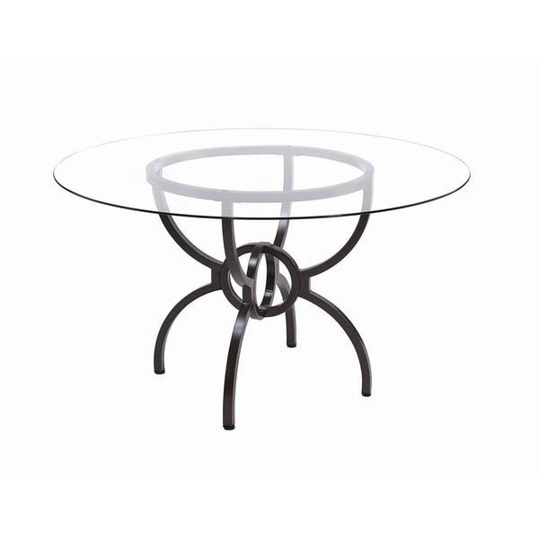 Allegra Gunmetal Dining Table Base