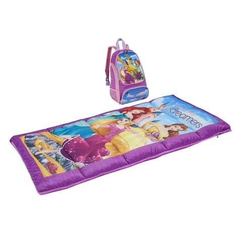 Disney Princess Kids 2-Piece Oxford Backpack Kit