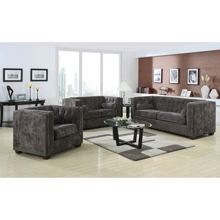 Welch Charcoal 3-piece Living Room Set