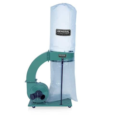 General International 1.5 HP 14Amp Commercial Dust Collector w/2 micron bag
